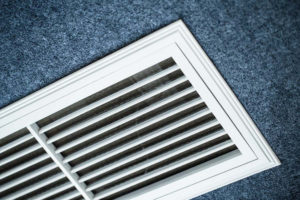air conditioning lingo, close up shot of the vents of an air conditioner